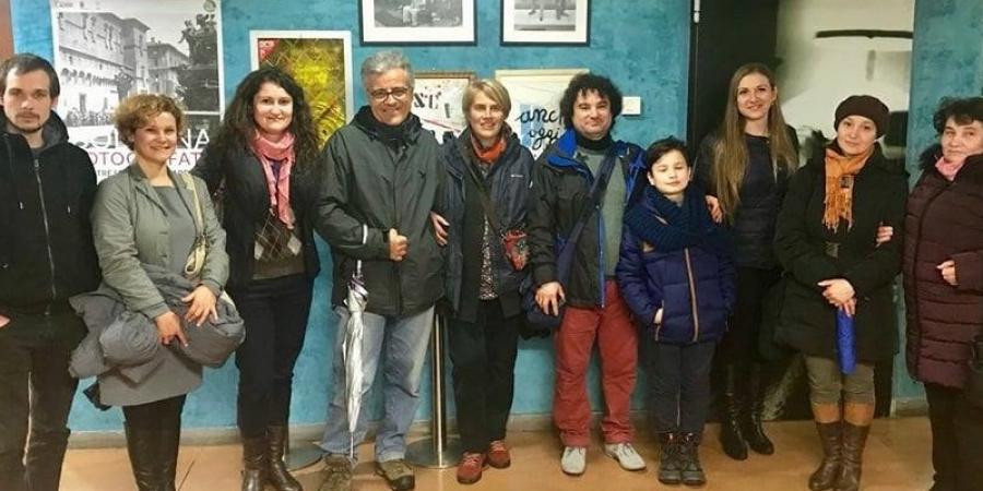 O familie de moldoveni, protagoniștii unui film rulat în cinema la Bologna