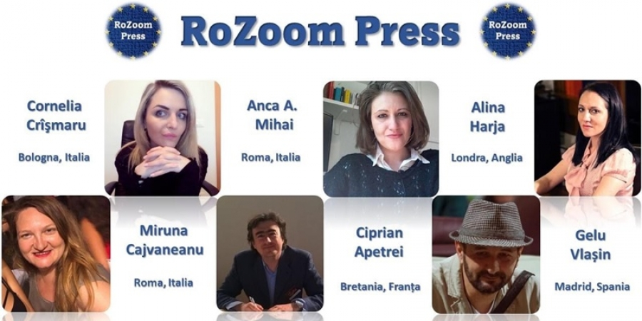 6 jurnalişti români din diaspora lansează platforma RoZoom cu mesajul #NePasa