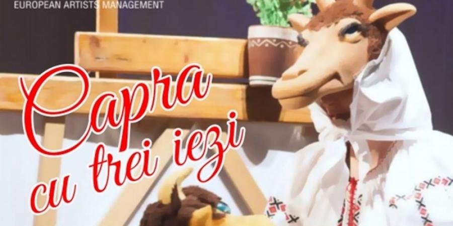 """""""Capra cu trei iezi"""", pe scena teatrului din Bologna"""