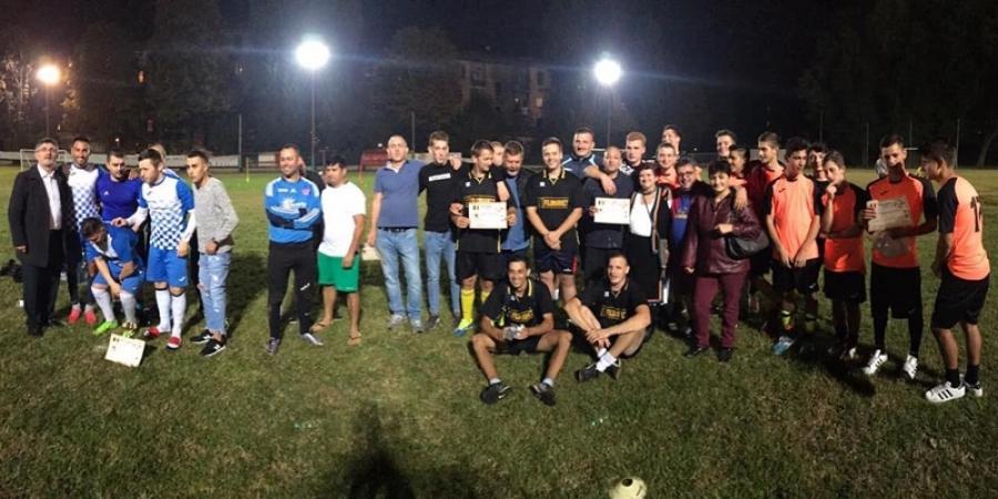 """Românii din Emilia-Romagna s-au întrecut la Turneul de Fotbal """"Cupa Centenarului"""""""