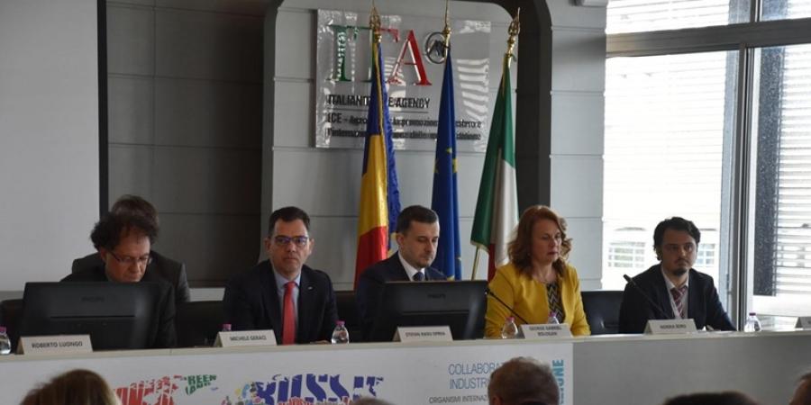 Forumul economic România-Italia. Italia pe locul 2 în topul țărilor partenere pentru România, atât la export, cât și la import