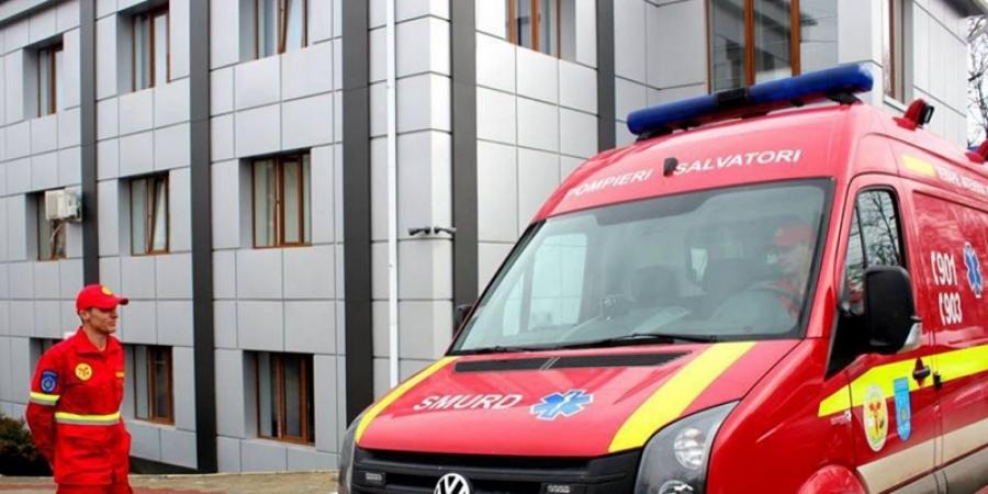 Un echipaj SMURD a mers în Italia pentru a prelua un pacient