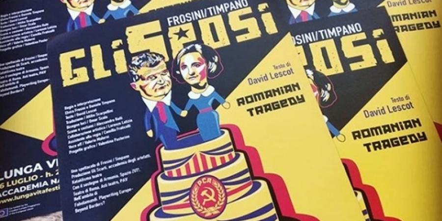 """""""Soţii"""", spectacol despre viaţa cuplului Ceauşescu în premieră absolută la Bucureşti"""
