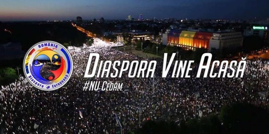 """Diaspora PREGĂTEŞTE un nou miting de AMPLOARE. Pentru ce vor românii din STRĂINĂTATE să """"invadeze"""" iar ţara"""