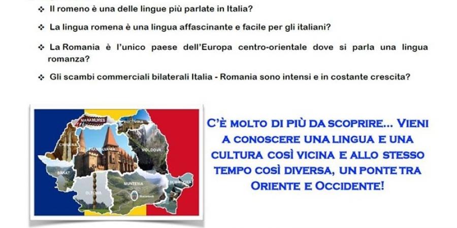 Se redeschid cursurile de limba română la Universitatea din Udine