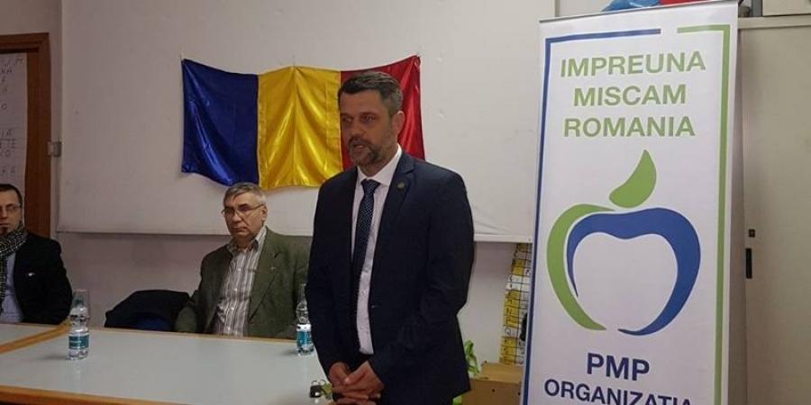 Deputatul Doru Coliu în vizită în Italia